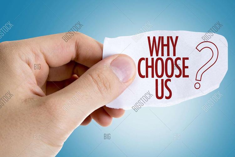 हमारा चयन क्यों