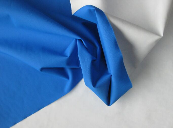 Nylon 228T Taslan Fabric Waterproof Pu Coating 120 gsm