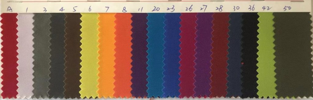 Nylon 420D Oxford Fabric Colors