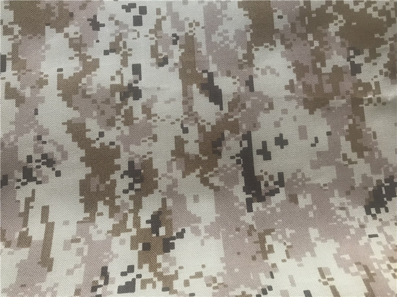 Nylon Cordura Fabric Desert Digital Camouflage Printed