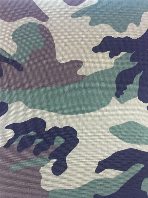 Nylon Cordura Stoff Camouflage Printed