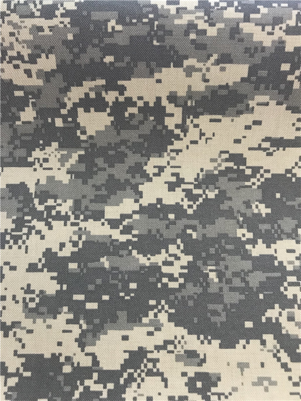 Nylon Cordura Fabric Digital Camouflage Printed