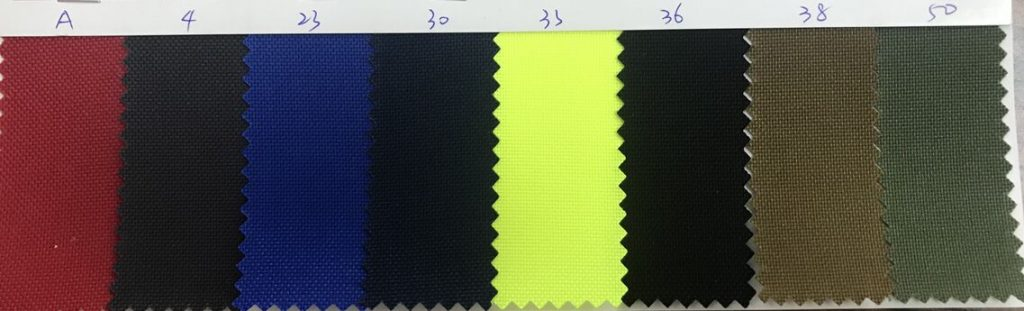 Nylon 1000D Cordura Fabric Colors
