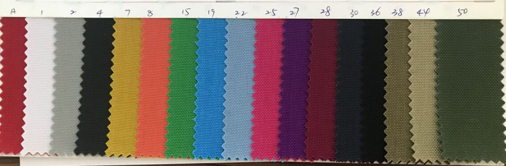 Nylon 1050D Cordura Fabric Colors