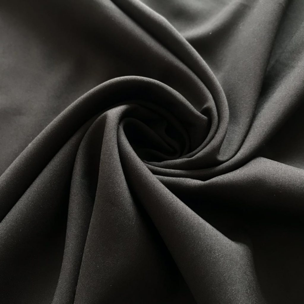 Polyester 50D Microfiber Stretch Fabric