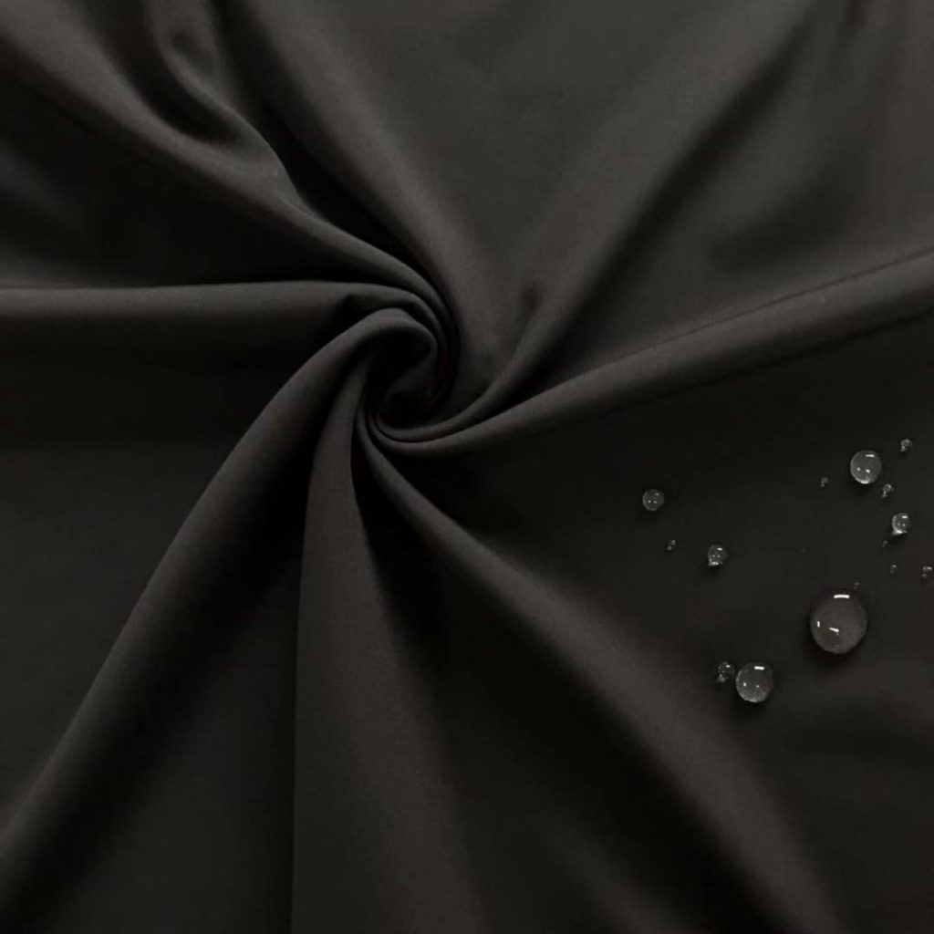 Polyester 75D Microfiber Stretch Fabric Waterproof